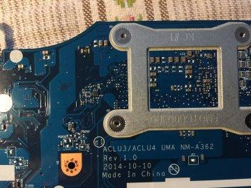 KÖPES! Fungerande Moderkort Lenovo G 50- 80 Intel -3 uppått